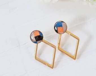 Geometric Stud Earrings, Gold Plated Jewelry, Vintage Earrings, Drop Earrings, Circle Earrings, Gold Earrings For Women, Unique Earrings