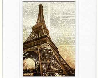 Eiffel II photo print