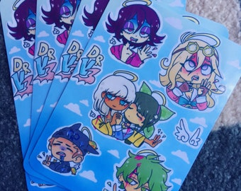 DanganRonpa V3 Angels Sticker Sheet