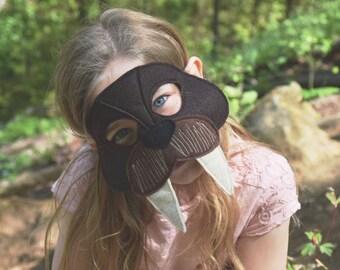 Felt walrus mask