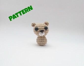 Amigurumi Beaver Pattern, Crochet Beaver Pattern, Amigurumi Woodland Pattern, Woodland Animal Pattern, Crochet Woodland Pattern, Kid Pattern