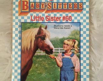 Babysitters Club Little Sister Karen's Pony