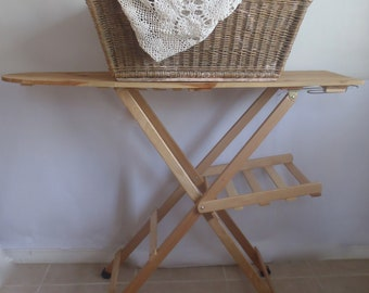 Antique French Laundry Day Basket