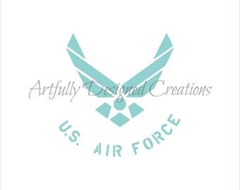Air Force Stencil