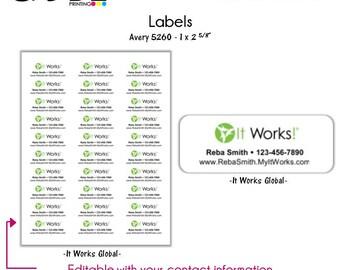 It Works! Labels - Digital File