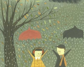 Späten Herbst.  Limitierte Auflage von Matt Stephens.