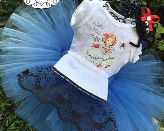 Little Miss Muffet Tutu Costume - Little Miss Muffet Tutu Dress