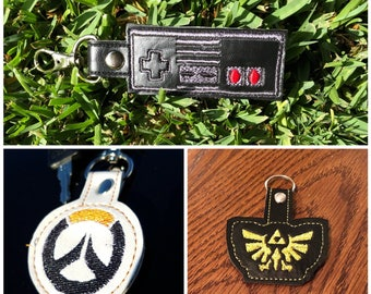 Video game keyfobs