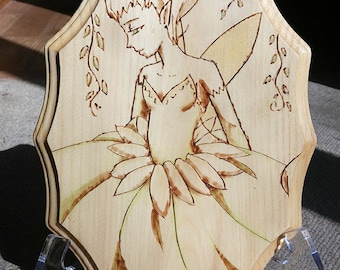 Burned Wood: Fairy/Elf/Doe/Fall
