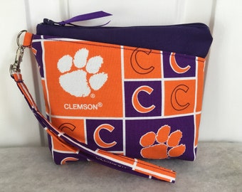 Clemson Tigers Wristlet