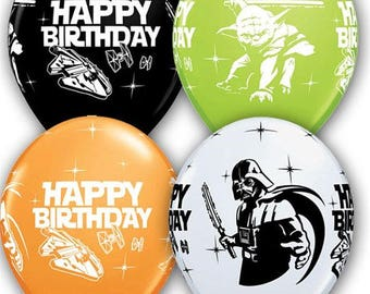 Star Wars Party, 10 Happy Birthday, Star Wars Movie Party, Star Wars Party Favors, Star Wars Party, Darth Vader, Yoda, RDD2, Storm Trooper