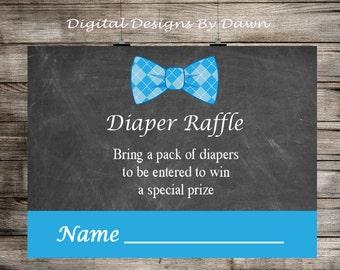 Baby Shower Diaper Raffle Ticket, Diaper Raffle Game, Baby Shower Games, Chalkboard Diaper Raffle, Diaper Ticket INSTANT DOWNLOAD DR99