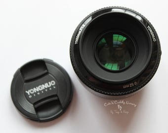 Yongnuo Camera Lens - 50mm f/1.8 - New without Box