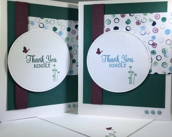 Thank You Kindly, friends, family, card, stampin up