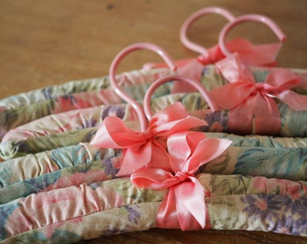 Vintage Hangers - Covered Hangers