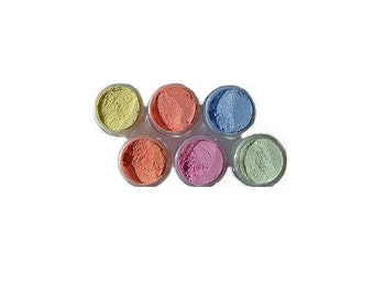 Cosmic Shimmer Mica Pigment Powders - Subtle Shades - for Polymer Clay, Paper Crafts, Resin, Nail Art etc