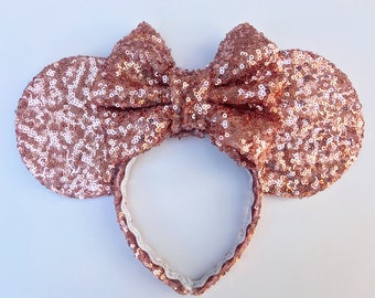 Rose Gold Sparkle Ears