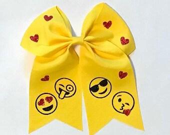 Emoji Custom Hair Bow