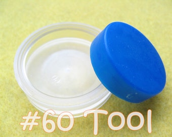 "Cover Button Assembly Tool - Size 60 (1 1/2"") diy notion button supplies rubber hand press non machinery"