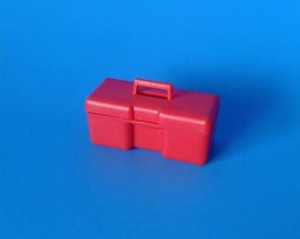 "Big Jim "" Red Tool Box "" 1970's Mattel"