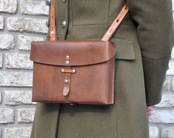 Vintage Swiss Army bag Clutch/Kaartentas