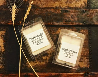 ALL Natural SOY Tart Wax Melts w/ Essential Oils