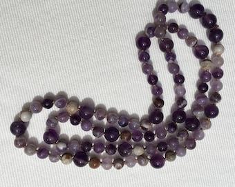 Amethyst/Cape Amethyst Healing Necklace