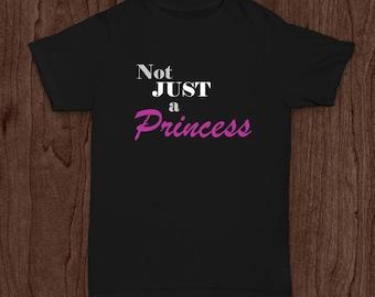 Infant/Toddler Black Not JUST a Princess T-shirt