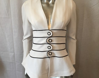 Lillie Rubin White Jacket