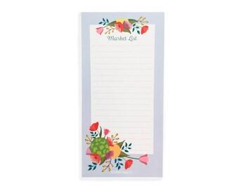 Artichoke Market List Notepad- Notepad- Shopping List- Farmer's Market- Gift