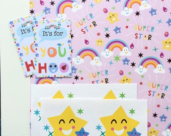 Superstar Gift Wrap Set