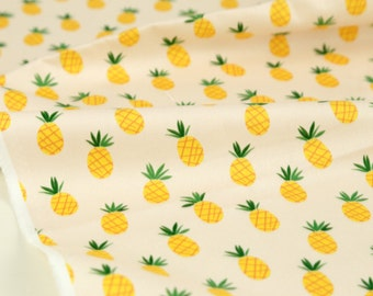 Pineapple Patterned Fabric made in Korea by the Yard