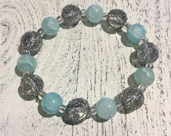 Baby Blue Cage bracelet