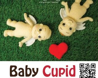 PDF Pattern - Amigurumi Baby Cupid