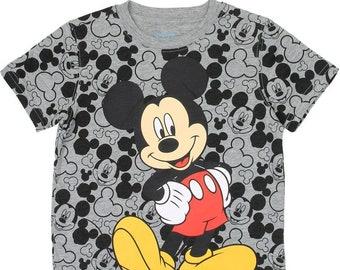 Boys mickey mouse 4-7 t-shirt