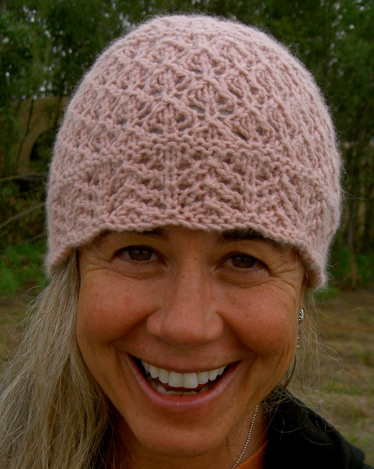 Soft Lace Chemo Hat knitting pattern pdf womens fashion from ...