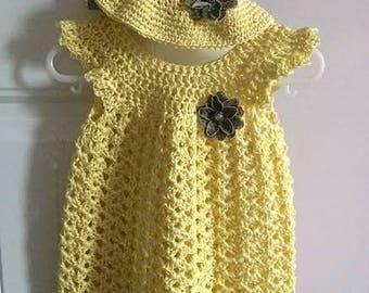 Sunflower Dress Set