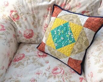 Retro style cushion cover, pillow case, Oriental style cushion cover, 18 inch cushion cover