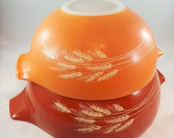 Pyrex Autumn Harvest 2-Piece Mixing Bowls