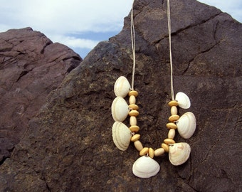 Baby Clamshell Statement Necklace