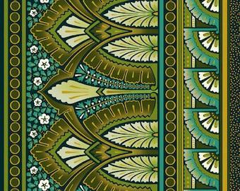 Deco Elegance Border by Jason Yenter 2JYE 2M Metallic Art Deco Fabric for In The Beginning Fabrics - 100% Cotton Fabric