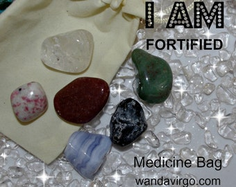 Fortified Crystal Medicine Bag I AM Fortified / Boost Immune System