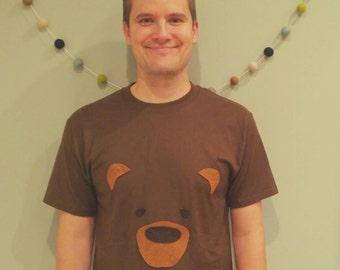 Adult Bear Birthday Shirt