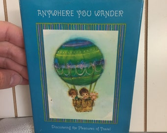 Vintage Children's Book Anywhere You Wander