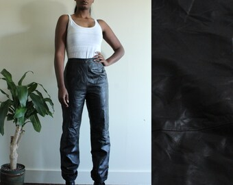 90's Leather Women's Pants