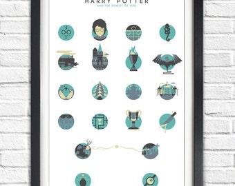 Harry Potter - 4 - The Goblet of Fire - ALTERNATIVE VERSION - 19x13 Poster