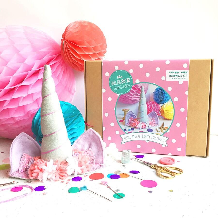 Unicorn DIY Kit Crafts Felt Craft Kits Kids Costume