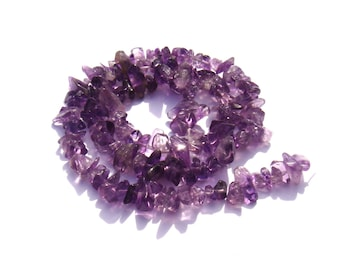 20 multicolored 4/6 mm diameter Amethyst chips