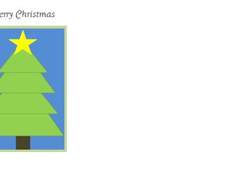 Share this Christmas card with the entire family to make your Christmas special. Christmas Card, Christmas Tree Card