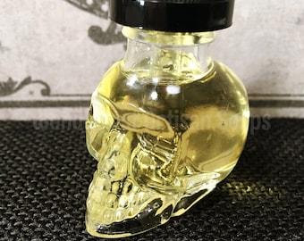 Practical Magick Vegan Perfume Oil in Skull Dropper